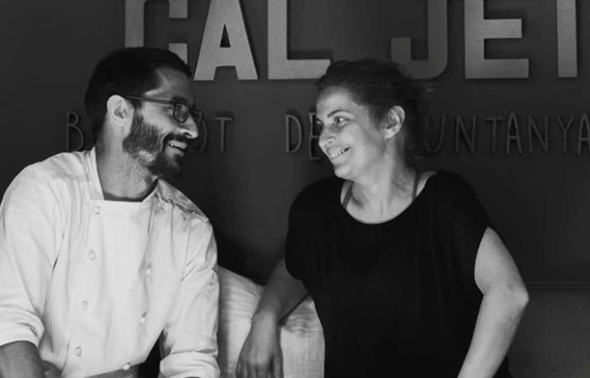 Sandra i David Cal Jet Bistrot de Muntanya Ger de Cerdanya
