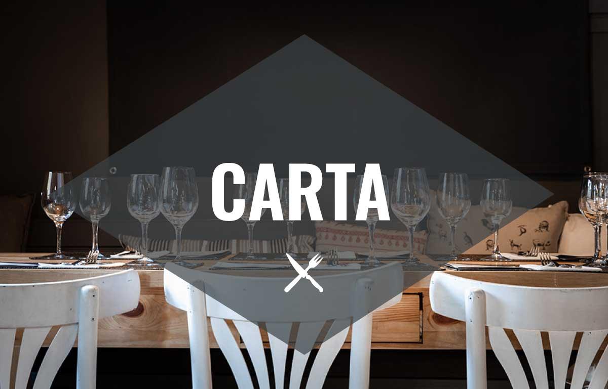 Carta restaurant cerdanya